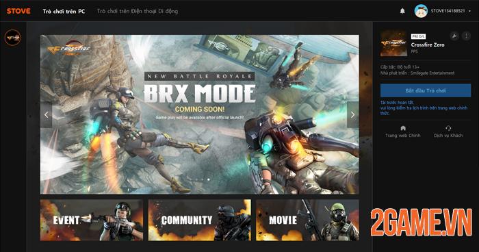 Crossfire Zero - Đột Kích Web sắp ra mắt game thủ Việt 1