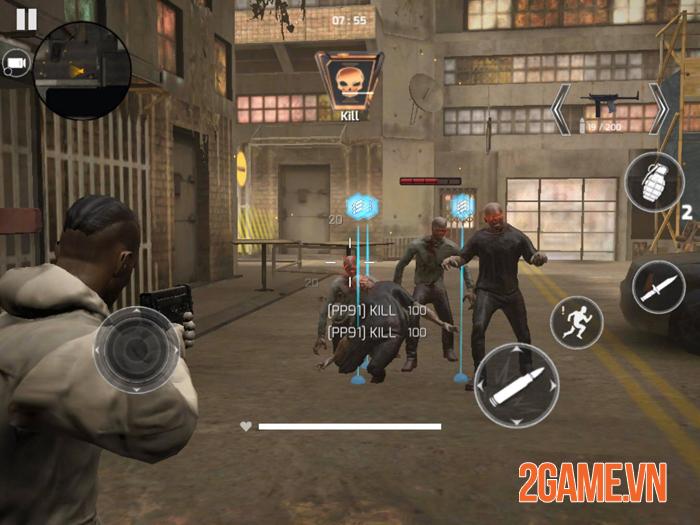 Trải nghiệm Project War Mobile - Game bắn súng đa dạng mode chơi 2