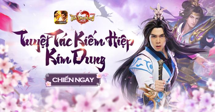 Diễn viên Anh Tú cosplay phái Mộ Dung trong Tân Thiên Long Mobile VNG 2