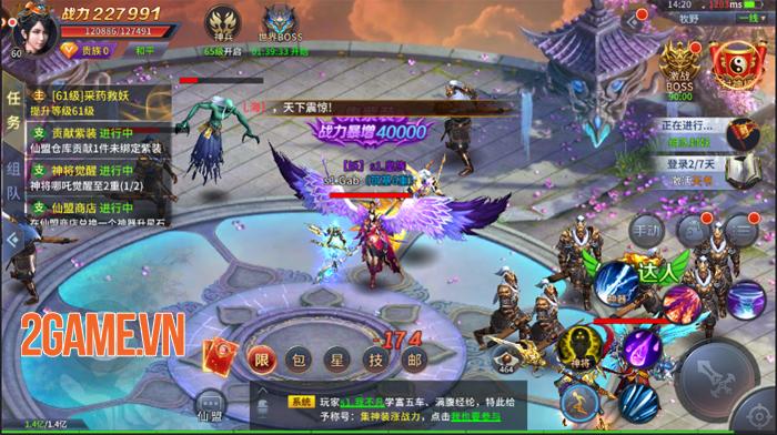 Game nhập vai Cửu Thiên Mobile ra mắt trang chủ 0