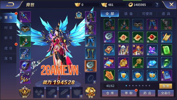 Game nhập vai Cửu Thiên Mobile ra mắt trang chủ 1