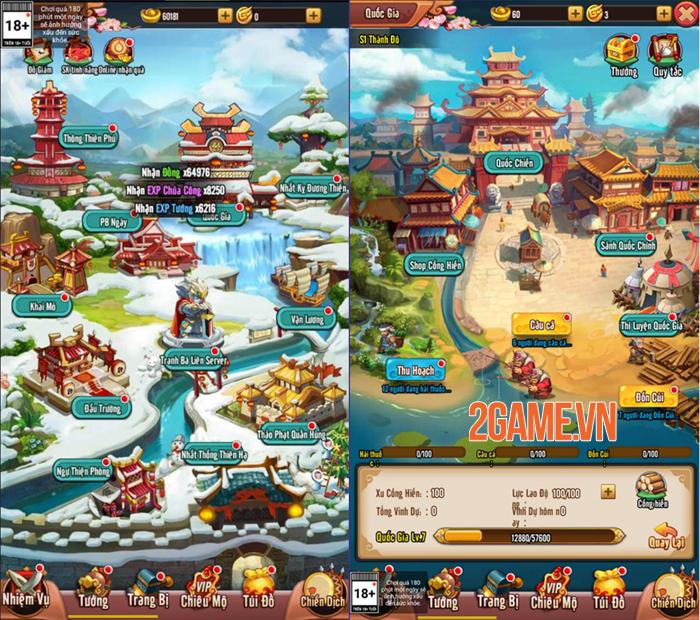 Idol Tam Quốc Funtap là game 3Q chơi đa nền tảng 1