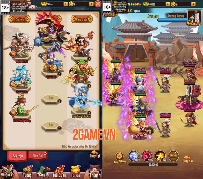 Idol Tam Quốc Funtap là game 3Q chơi đa nền tảng 2