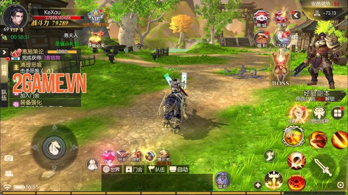 Game nhập vai PK đoạt vị Kiếm Đế 3D Gamota ra mắt trang chủ 2
