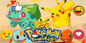 Pokemon Truyền Kỳ H5 đem những hình ảnh chuẩn vị tuổi thơ quay về!