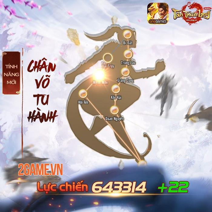 Tân Thiên Long Mobile cho người chơi nhập tâm vào võ học qua tính năng mới 0