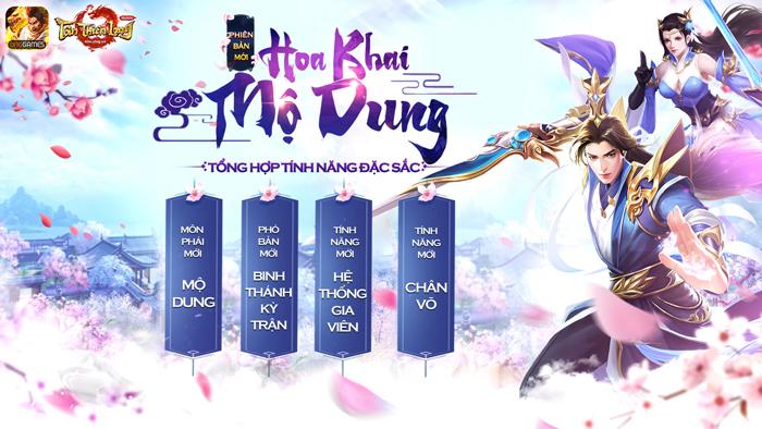 Phiên bản Hoa Khai Mộ Dung mang tới sự mới mẻ gì cho Tân Thiên Long Mobile VNG? 0