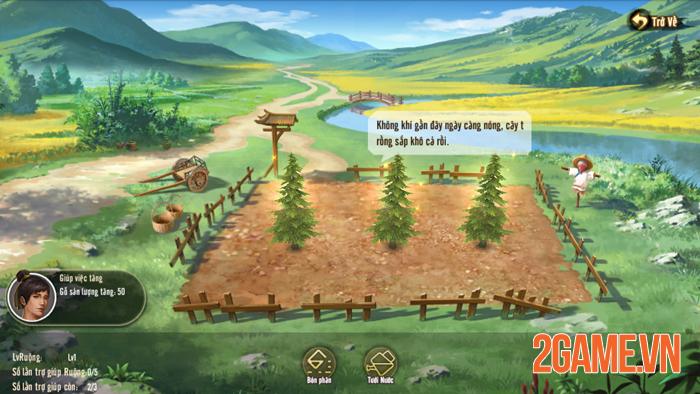 Tân Thiên Long Mobile sắp cho người chơi làm nông 2
