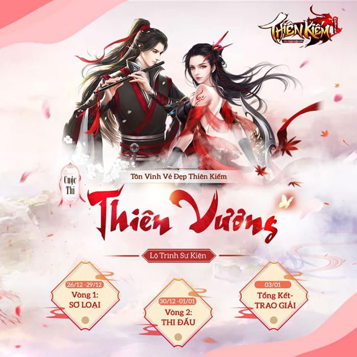 Thiên Kiếm Mobile tôn vinh vẻ đẹp game thủ với sự kiện Miss Cộng Đồng 0