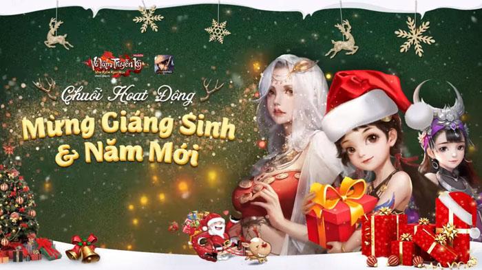 Game thủ Võ Lâm Truyền Kỳ Mobile truy tìm Ông Già Noel đòi quà Giáng sinh 0