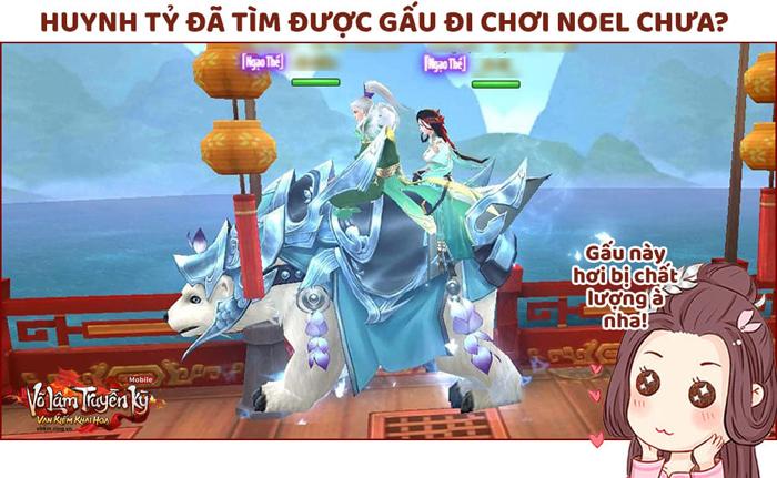 Game thủ Võ Lâm Truyền Kỳ Mobile truy tìm Ông Già Noel đòi quà Giáng sinh 3