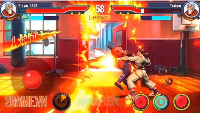 Hero Versus - Game đối kháng mang đến sự tự do trong cơ chế điều khiển 3