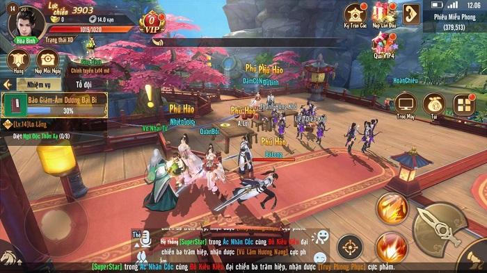 Kiếm Ca VNG liên tiếp cho ra mắt 3 server chỉ trong sáng cuối tuần 1