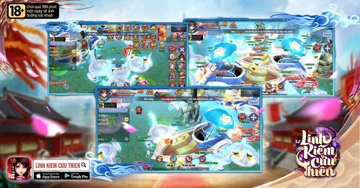 Game thủ Linh Kiếm Cửu Thiên tổ chức party bể bơi trên du thuyền 2