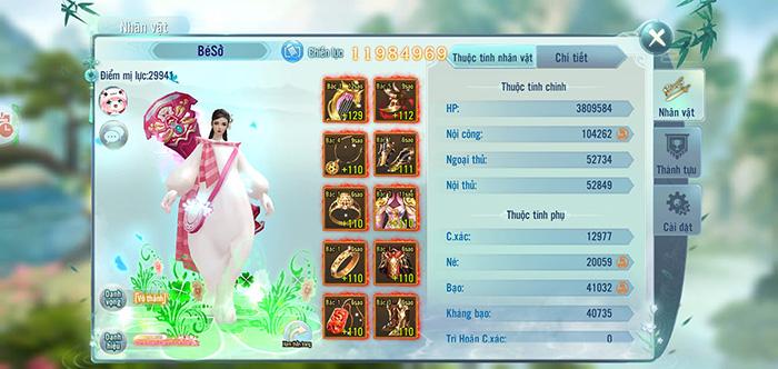 Game thủ Nhất Kiếm Giang Hồ thích thú với tính năng chuyển phái 2