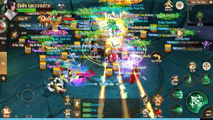 Thiên Kiếm Mobile dung hoà nhiều game để tạo ra thế giới của riêng mình 0