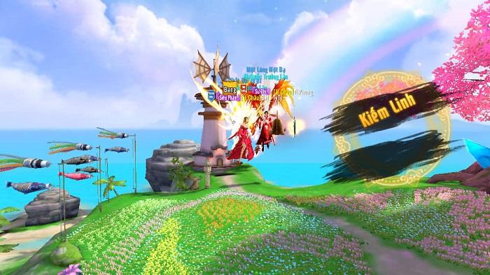 Thiên Kiếm Mobile dung hoà nhiều game để tạo ra thế giới của riêng mình 1