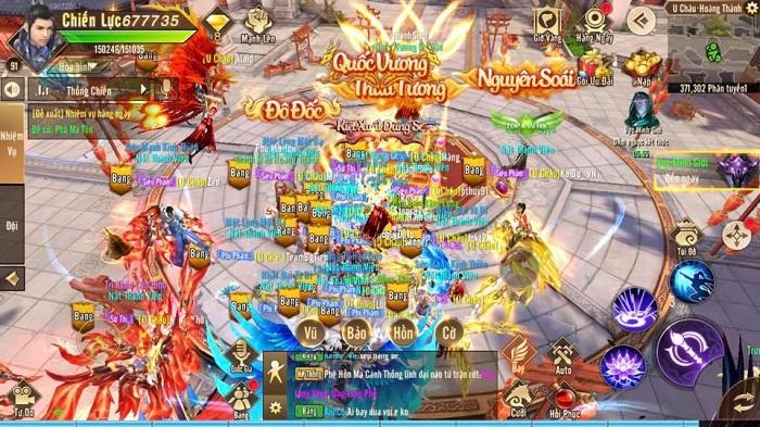 Thiên Kiếm Mobile dung hoà nhiều game để tạo ra thế giới của riêng mình 2