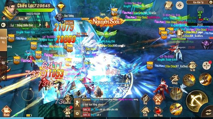 Thiên Kiếm Mobile dung hoà nhiều game để tạo ra thế giới của riêng mình 3