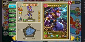 Game mobile Vũ Trụ Anh Hùng cập nhật Thần huỷ diệt Beerus