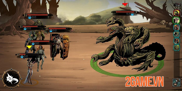 Lazara Battle Heroes - Game idle thẻ tướng không phụ thuộc auto 1