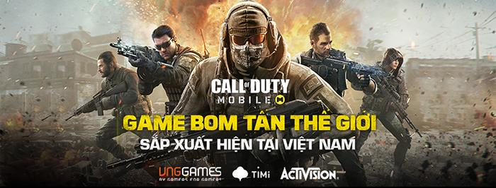 VNG Games ra mắt trang chủ Call of Duty Mobile VN 0