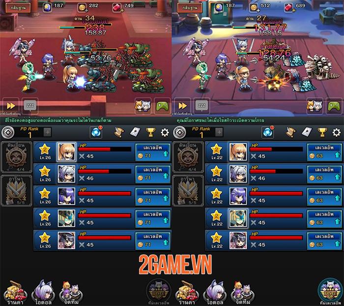 Dungeon iDoll cho phép bạn triển khai chiến thuật đội hình vô hạn 1