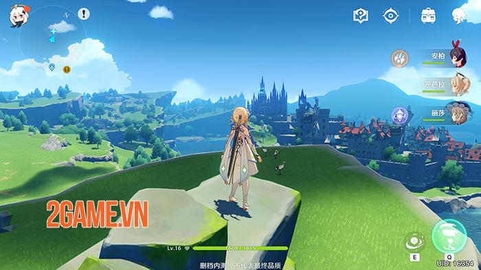 Siêu phẩm game nhập vai thế giới mở Genshin Impact sẽ hỗ trợ tiếng Việt 1