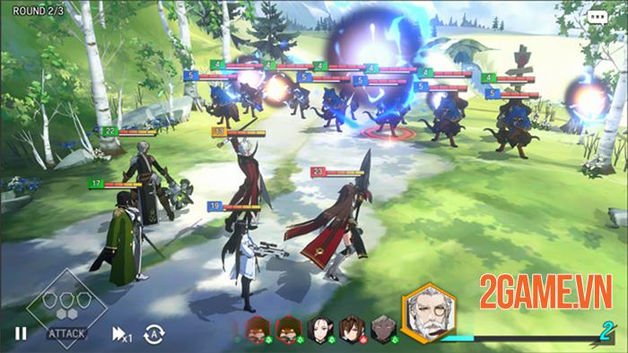 Lord of Heroes - Game đánh theo lượt có cốt truyện hấp dẫn 2