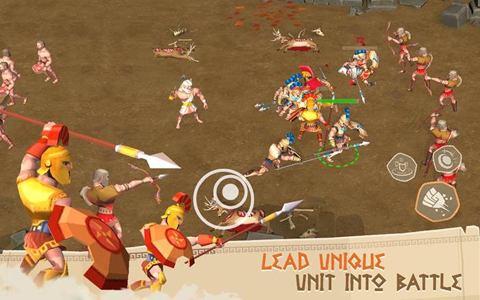 Trojan War - Game chiến thuật mô phỏng cuộc chiến thành Troy 1