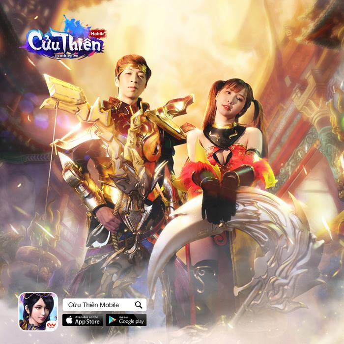 ViruSs trở thành đại sứ hình ảnh game Cửu Thiên Mobile 1