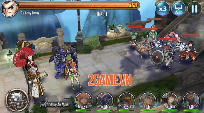 Top 11 game mobile lấy cảm hứng Âm Dương Sư Nhật Bản 4