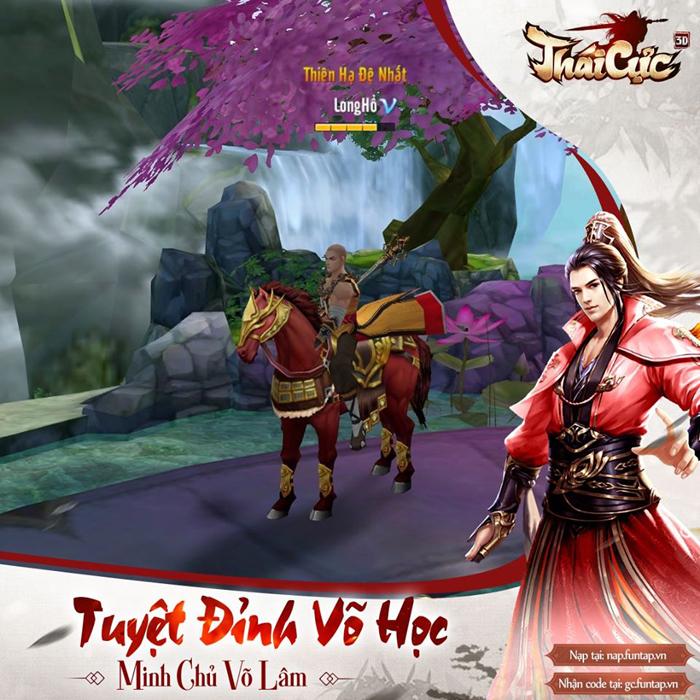 Game thủ Thái Cực 3D xôn xao với sự kiện đua TOP Tuyệt Đỉnh Võ Học mùa 1 1