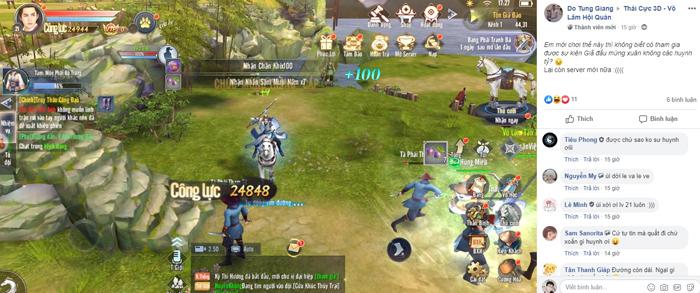 Game thủ Thái Cực 3D xôn xao với sự kiện đua TOP Tuyệt Đỉnh Võ Học mùa 1 2
