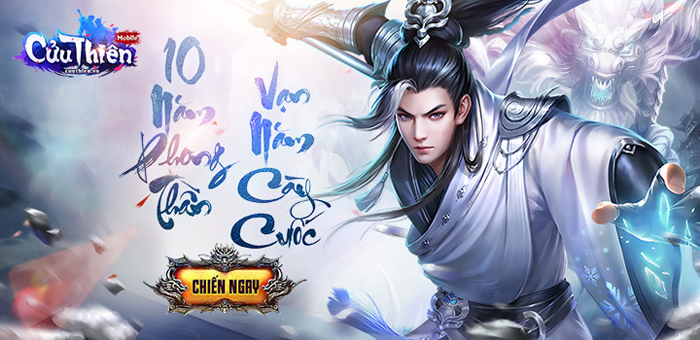 Tặng 444 giftcode game Cửu Thiên Mobile 0