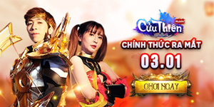 Tặng 444 giftcode game Cửu Thiên Mobile