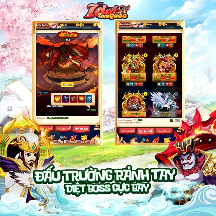 Idol Tam Quốc sở hữu khá nhiều hoạt động, đảm bảo nhìn là muốn chiến! 0