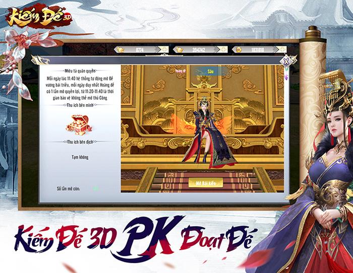 Game Kiếm Đế 3D công bố ngày ra mắt tại Việt Nam 2