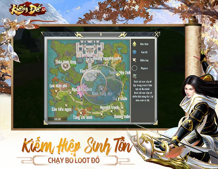 Game Kiếm Đế 3D công bố ngày ra mắt tại Việt Nam 3