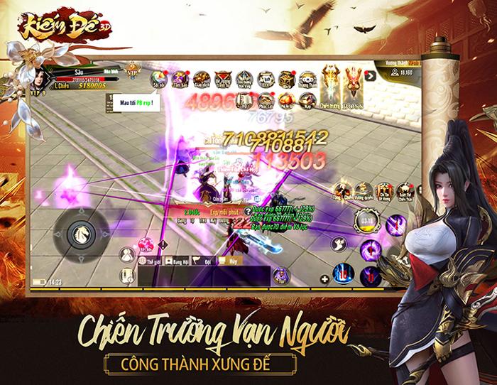 Game Kiếm Đế 3D công bố ngày ra mắt tại Việt Nam 4