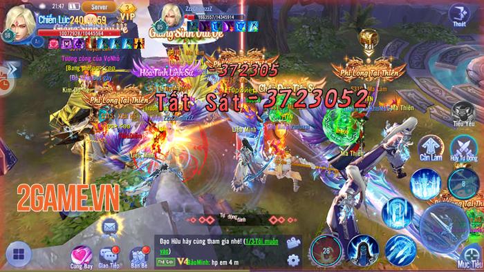 Kiếm Ma 3D Funtap rất chú trọng vào việc kết nối cộng đồng người chơi 0