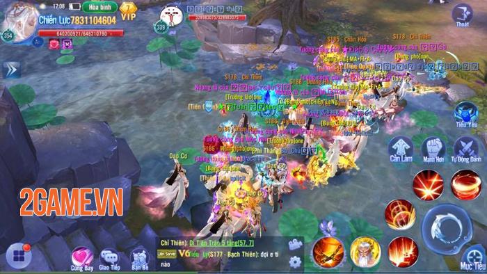 Kiếm Ma 3D Funtap rất chú trọng vào việc kết nối cộng đồng người chơi 2