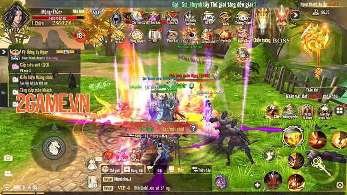 Mỗi phái trong game Kiếm Đế 3D đều có nguồn gốc xuất thân riêng biệt 3