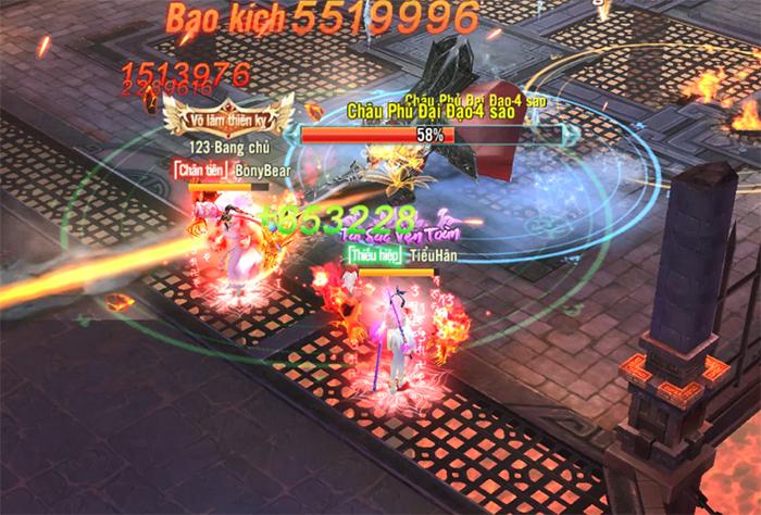 Game Nhất Kiếm Giang Hồ đón Xuân với bản cập nhật Châu Phủ Đại Đao 1