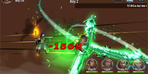 Game thẻ tướng Tam Anh Chiến Mobile mang tới 8 hiệu ứng chiến đấu