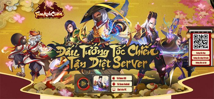 Game mobile Tam Anh Chiến công bố lộ trình thử nghiệm 2