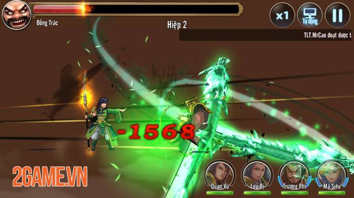 Game mobile Tam Anh Chiến công bố lộ trình thử nghiệm 1