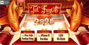 NPH Funtap tổ chức đại tiệc Tết 2020 cho tất cả game thủ