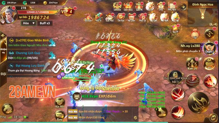 Game Tiên Ma Truyền Kỳ Mobile thử nghiệm vào sáng mai 2