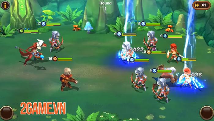 Amazing Wizards - Game nhập vai thẻ tướng có tính năng auto tiện lợi 3